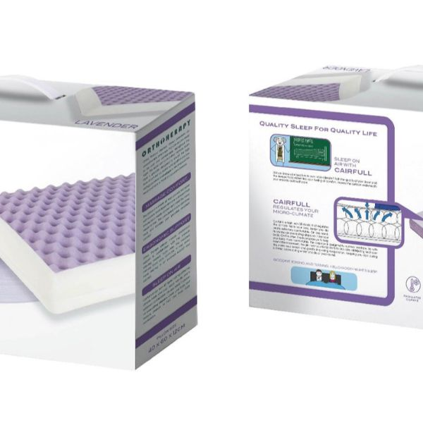almofada mindol orthotherapy lavender caracteristicas