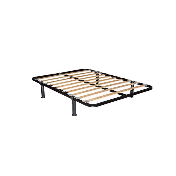 Lâminas de madeira de faia com reforço lombar Disponível kit 4 pés redondos com encaixe Ótima elasticidade e total adaptação ao colchão Ótima durabilidade e resistência Regulação da firmeza